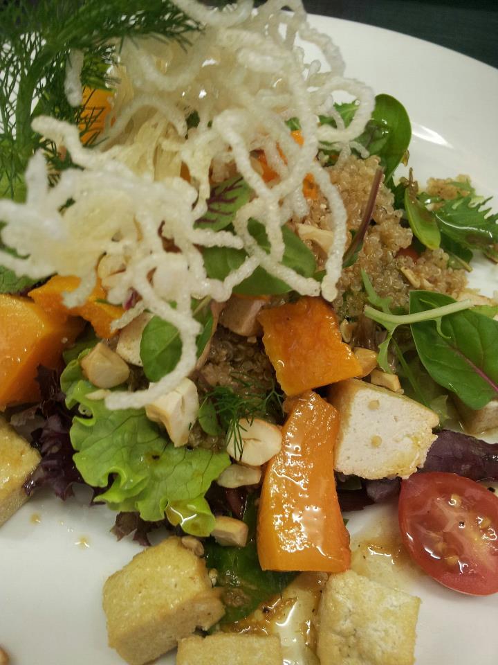 Autumn-inspired butternut salad