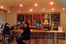 Avontuur's cosy tasting room.