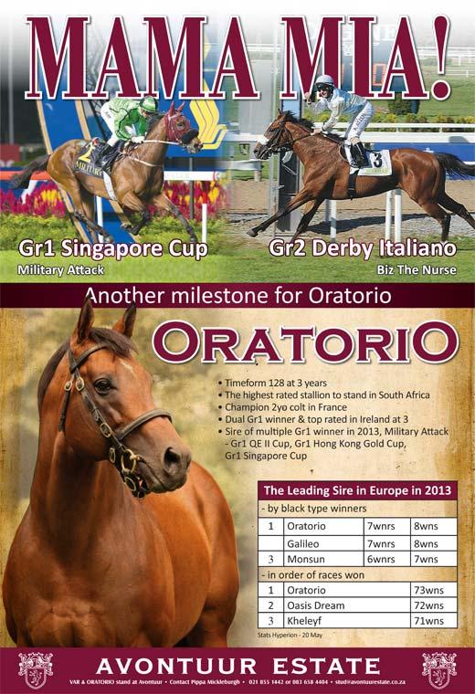 Oratorio's achievements!