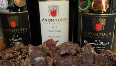 Biltong and wine pairing for Heritage Month